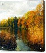 Landscape Definition Nature Acrylic Print