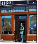 1130 High St. Acrylic Print by Linda Apple