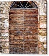 1165 Assisi Italy Acrylic Print