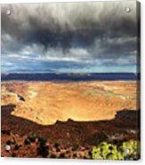 1174 Brewing Desert Storm Acrylic Print
