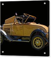 1930 Model A Ford Convertible Acrylic Print