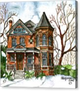 Victorian Winter Acrylic Print