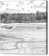 11th Hole - Trump National Golf Club Acrylic Print