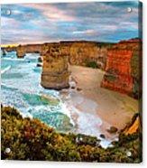 12 Apostle Sunset Acrylic Print