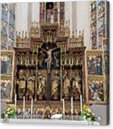 12 Apostles Altar - Rothenburg Acrylic Print
