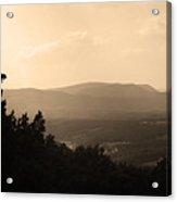 Blue Ridge Mountains Virginia Acrylic Print