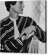 Duchess Of Windsor Wallis Simpson Acrylic Print