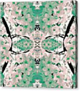 Floral Mural Acrylic Print