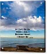 Lao Tzu Quote Acrylic Print
