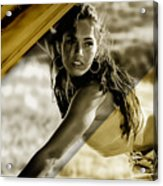 Megan Fox Collection Acrylic Print