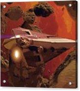 Movies Star Wars Poster Acrylic Print