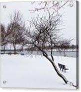 Obear Park In Winter Acrylic Print