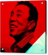 Smokey Robinson Collection Acrylic Print