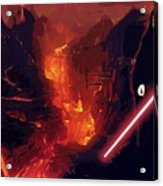 Star Wars Episode Poster Acrylic Print
