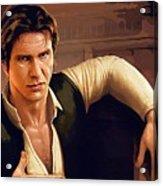 Star Wars Poster Art Acrylic Print