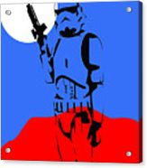 Star Wars Stormtrooper Collection Acrylic Print