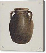 Stoneware Jar Acrylic Print
