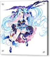 Vocaloid Acrylic Print