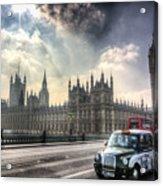 Westminster Bridge London Acrylic Print