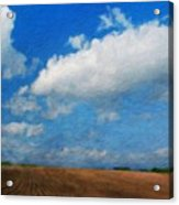 Nature Oil Painting Landscape Images Acrylic Print