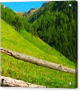 Nature Landscape Art Acrylic Print