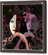 1258 - Stream Of Sadness 2017 Acrylic Print
