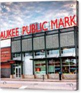 1275 Milwaukee Public Market Acrylic Print
