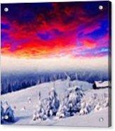 Nature Original Landscape Painting Acrylic Print