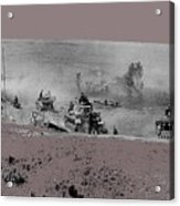 12th Panzer Division On The Move To Stalingrad August 1942 Color Added 2016 Acrylic Print