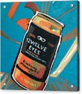 12welve Eyes Acrylic Print