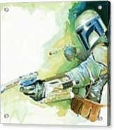 2 Star Wars Poster Acrylic Print