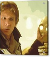 A Star Wars Poster Acrylic Print