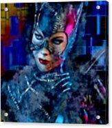 Catwoman Acrylic Print