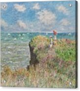 Cliff Walk At Pourville Acrylic Print