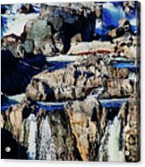 Great Falls Of The Potomac Acrylic Print
