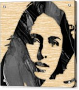 Joan Baez Collection Acrylic Print