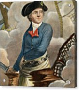 John Paul Jones, 1747-1792 Acrylic Print