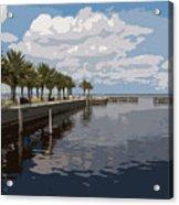 Lake Monroe At The Port Of Sanford Florida Acrylic Print