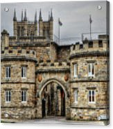 Lincoln England United Kingdom Uk Acrylic Print