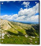 Mountain Panorama, Italy Acrylic Print