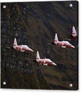 Patrouille Suisse Acrylic Print