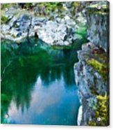 R G Landscape Acrylic Print