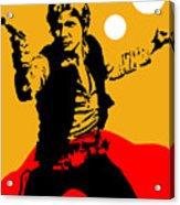 Star Wars Han Solo Collection Acrylic Print