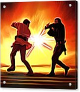 Star Wars Old Art Acrylic Print