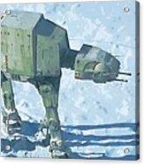 Star Wars On Poster Acrylic Print