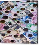 Travel Money - World Economy Acrylic Print