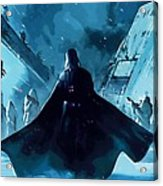 Video Star Wars Poster Acrylic Print