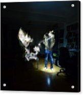 Light Painting Photography Acrylic Print