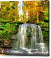 Nature Landscape Graphics Acrylic Print