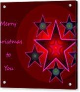1339 Merry Christmas To You 2018 Acrylic Print